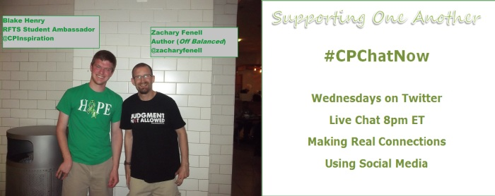 Join Zachary Fenell and Blake Henry every Wednesday for the live Twitter chat #CPChatNow.