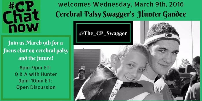 Cerebral Palsy Swagger Focus Chat Graphic