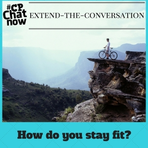Keep the conversation going! Share how you stay fit with cerebral palsy.