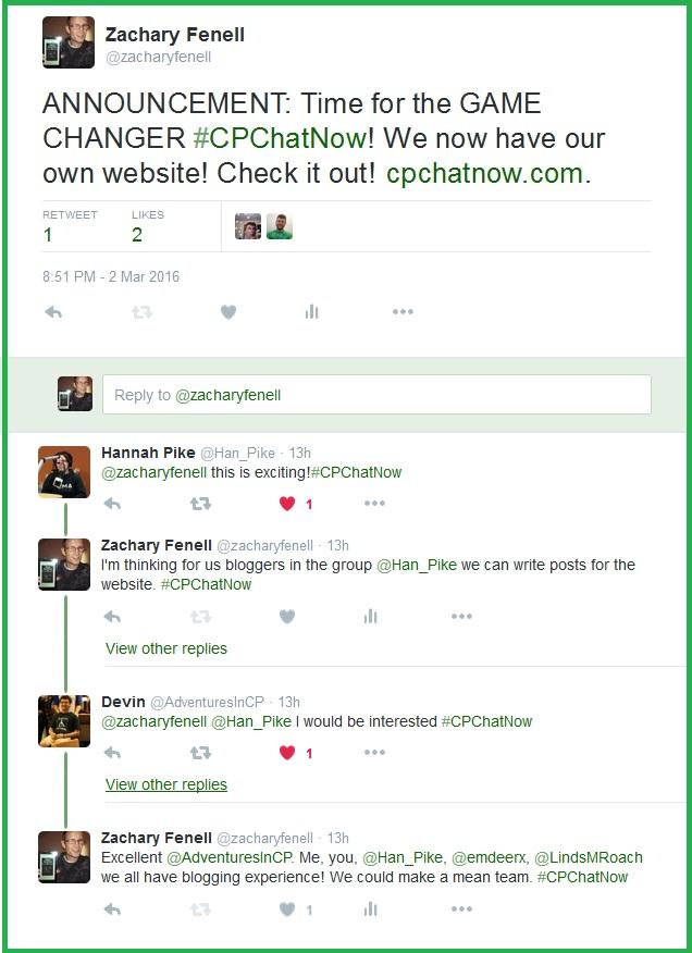 The CPChatNow community contleplates possibilities for cpchatnow.com.