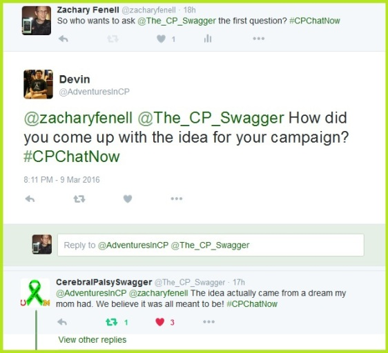 Hunter Gandee explains the catalyst for Cerebral Palsy Swagger.