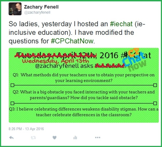 April 12th's #IEchat questions re-worked for #CPChatNow discussion.