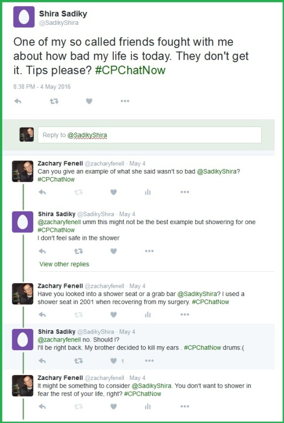 """A newcomer to #CPChatNow seeks tips to deal with a """"so called friend."""""""