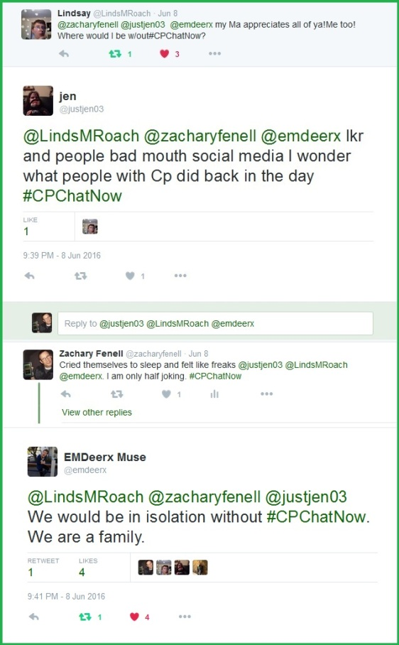 Our community recalls the time before #CPChatNow and social media.