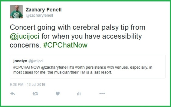 Jocelyn offers a last resort tip for inquiring about venue accessibility.