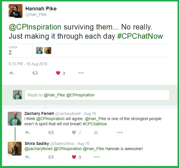 Hannah reminds #CPChatNow accomplishments do not always manifest in grand fashion.
