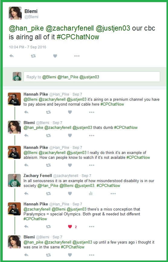 #CPChatNow discusses how the media covers the Paralympics and if ableism is involved.
