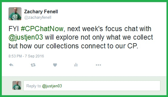 Zachary shares what you can expect from next week's focus chat on collectibles.