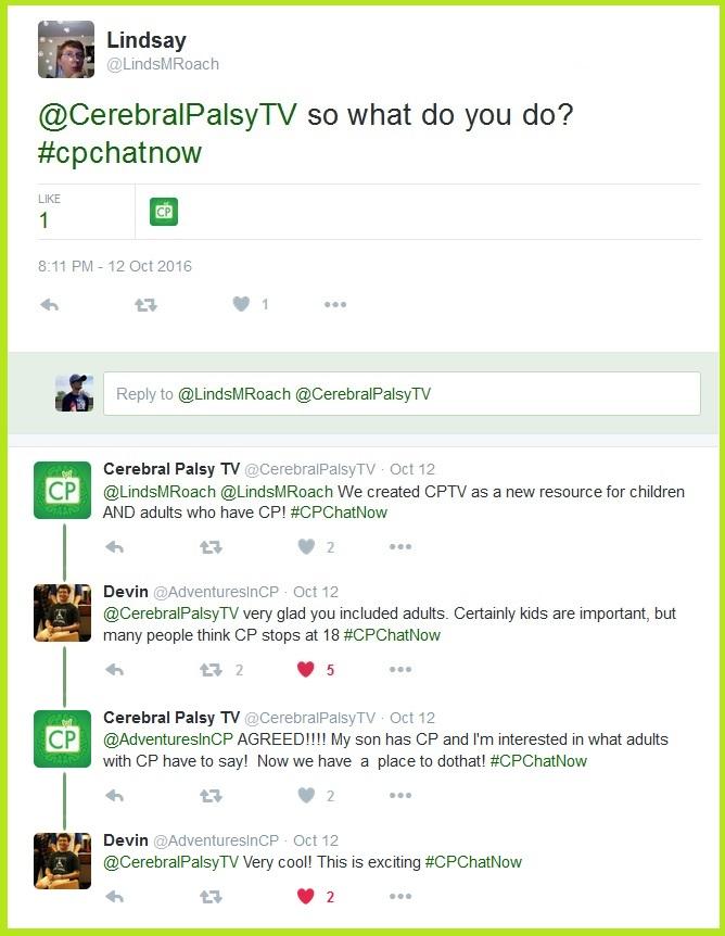 Cerebral Palsy TV shares their purpose.
