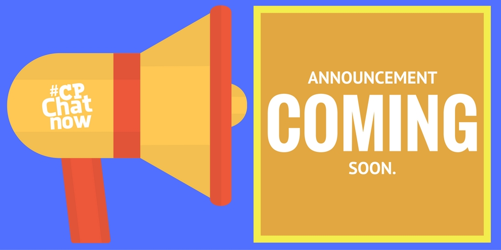 Stay tuned for our June 2017 focus chat announcement!
