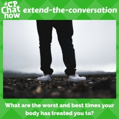 Answer this week's extend-the-conversation question.