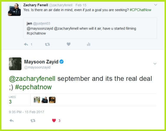 Maysoon Zayid eyes a September release for her sitcom I Can Can.