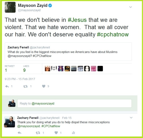 Maysoon names the biggest misconceptions Americans possess about Muslims.