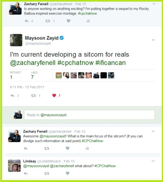 Maysoon Zayid will soon star in her own sitcom I Can Can.