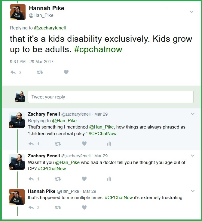 Hannah gets frustrated with how the media makes disability seem like an issue exclusively impacting kids.