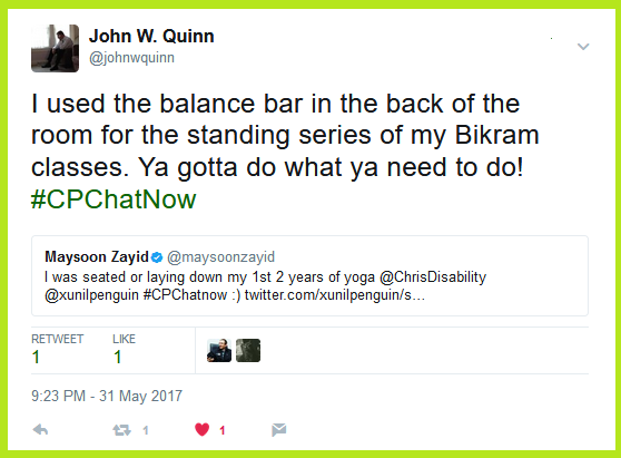 John W. Quinn and Maysoon Zayid talk about their beginnings with yoga.