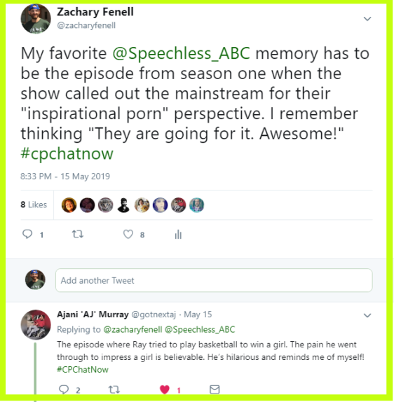 Zachary and Ajani share their favorite memories of Speechless.