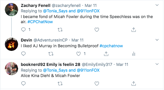 zach tweets about micah fowler from speechless. i tweet about aj murray from becoming bulletproof. emily tweeted alice kina diehl and micah fowler