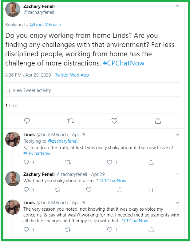 Zachary and Linds discuss working from home.