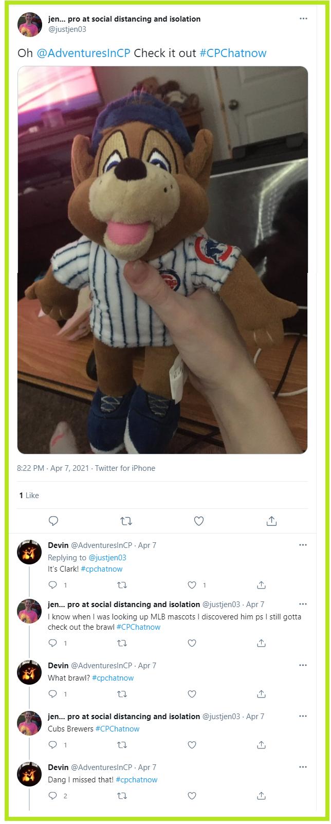 #CPChatNow regulars discuss baseball.