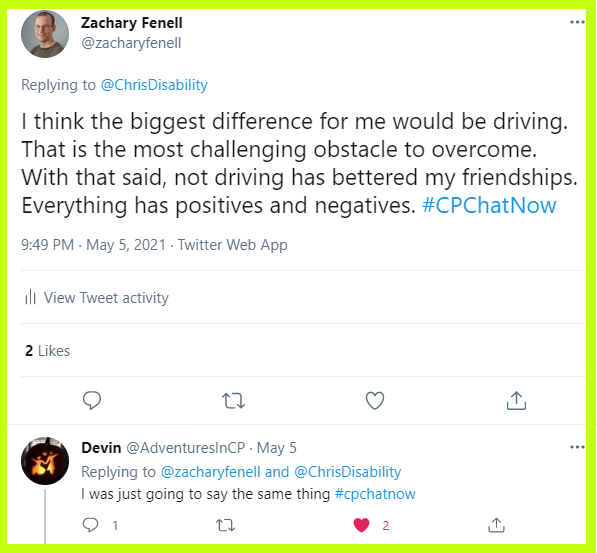 Devin and Zachary reflect on how life would be different if they drove.