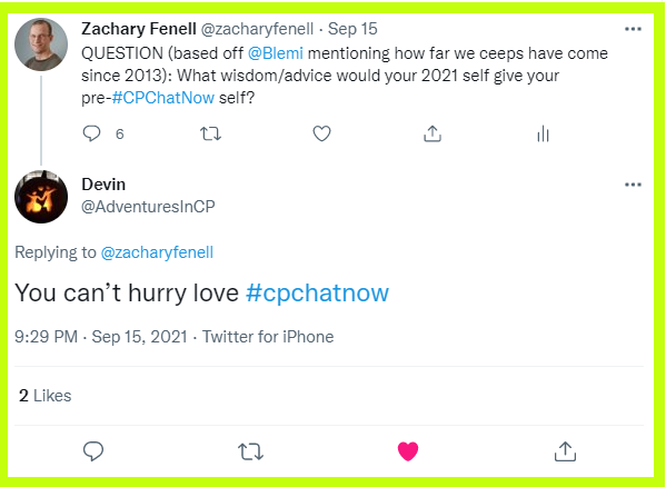 Devin answers what advice he would give his pre-CPChatNow self.